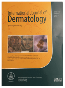 Case Report. International Journal of Dermatology, Volume 55, Issue 1