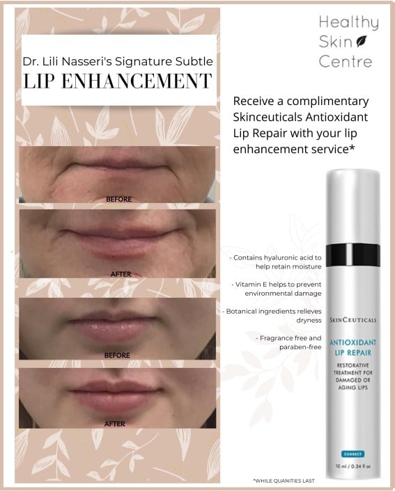 Lip Enhancement Promotion, November 2020, Healthy Skin Centre